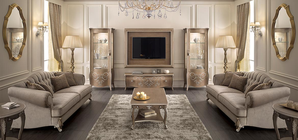 Italian classic living room furniture - Butterfly collection by Sevensedie